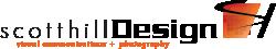 scotthillDesign Logo Horizontal Black