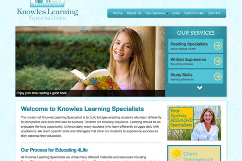 Knowles Learning Specialists – Case Study