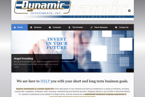 Dynamic Investments