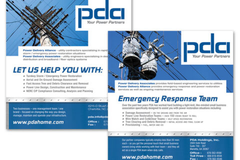 Power Delivery Associates Print Ads