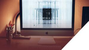 Innovative Design - Desk with iMac