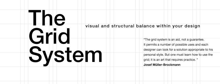 The Grid System in Design
