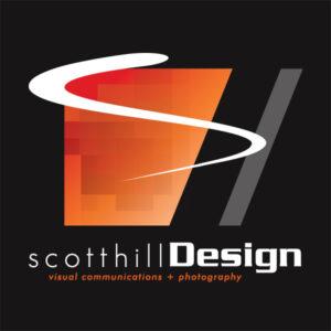 scotthillDesign Logo Stacked